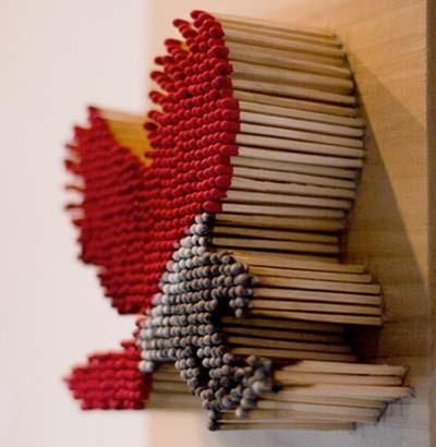 هنر کبریتی-دیوید ماخ