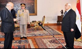 Mohamed ElBaradei- adli mansour