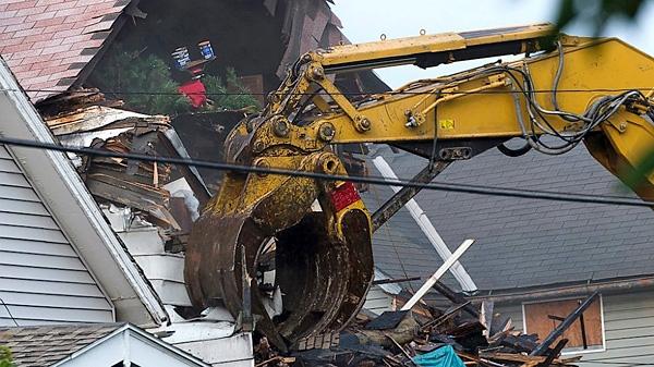 خانه جهنمی تخریب شد