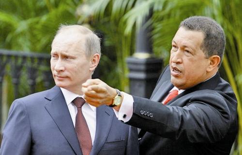 هوگو چاوز - ولادیمیر پوتین