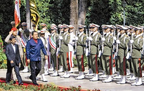 چاوز - احمدی نژاد