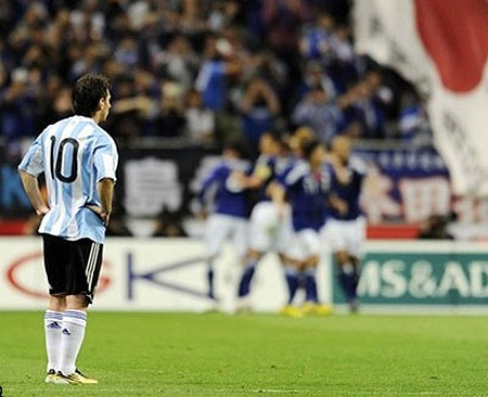 فوتبال ژاپن آرژانتین
