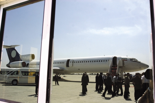 فرودگاه - مسافران