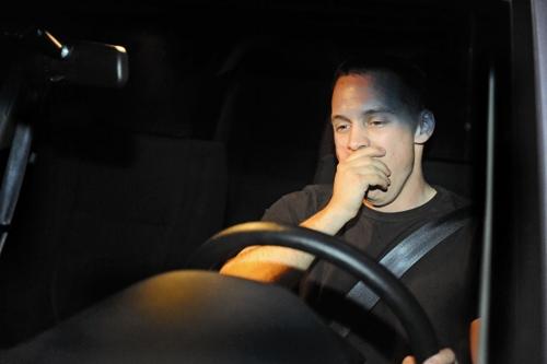 شب - راننده