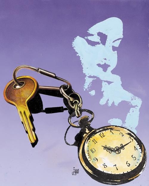 طرح - زن - کلید
