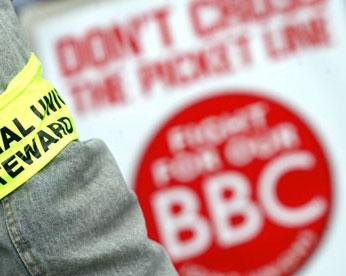 دیلی تلگراف: بی بی سی در آستانه اعتصاب است