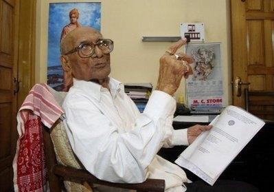 Indian centenarian
