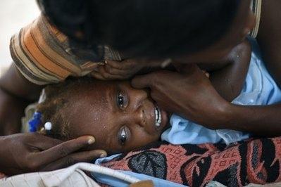 نگرانی از همهگیری وبا در هائیتی