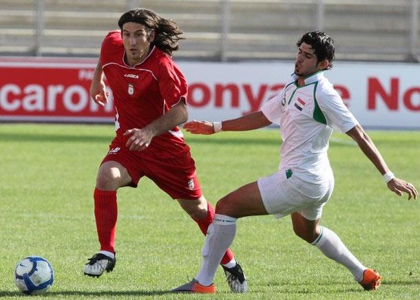 فوتبال غرب آسیا - تصاویر دیدار ایران و عراق