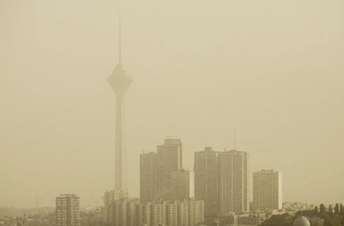 تهران - آلودگی هوا-ریزگرد