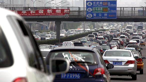 ترافیک چین