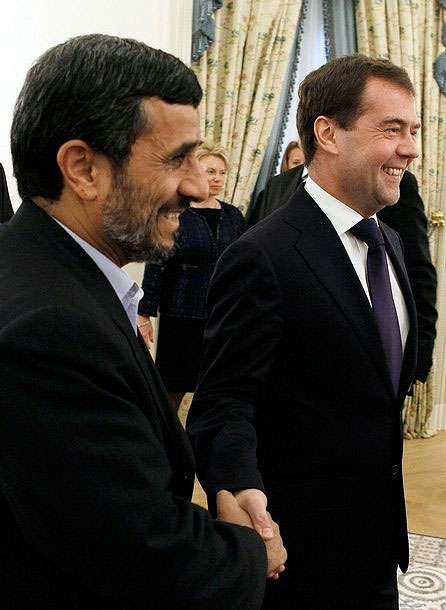 دیدار روسای جمهوری ایران و روسیه در اجلاس خزر