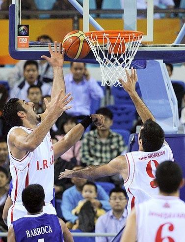بسکتبال گوانگجو ایران و هند