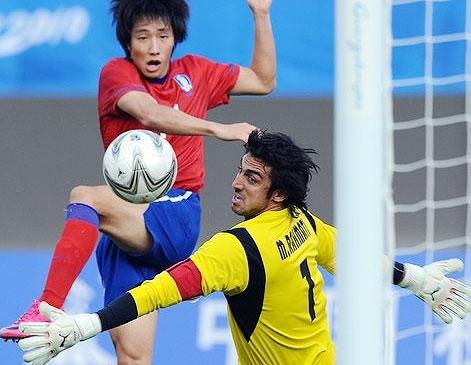 برنز فوتبال گوانجو برای فوتبال کرهجنوبی