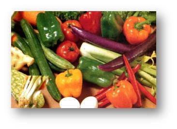 سبزیجات زرد و سبز