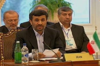 6 پیشنهاد احمدی نژاد در نشست سران خزر