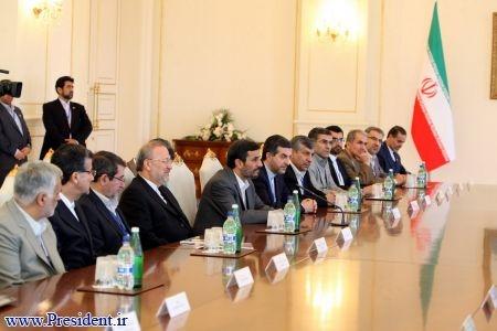 روسای جمهور ایران وآذربایجان