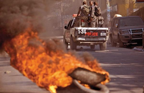 گسترش تظاهرات ضد سازمان ملل به پایتخت هائیتی