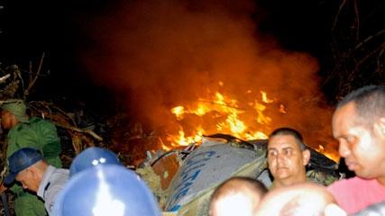 سقوط یک فروند هواپیمای کوبایی با 68 سرنشین