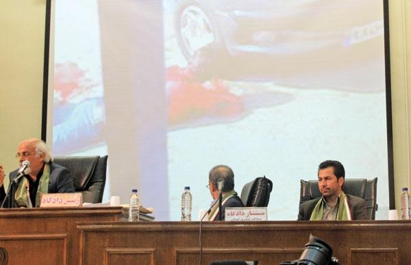 دادگاه متهم جنایت سعادت آباد