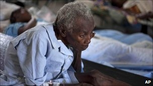 آزمایش وبا در پایتخت هائیتی