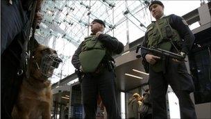 سربازن امنیتی آلمان
