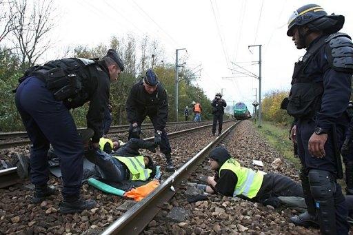 اعتراض به حمل سوخت هسته ای از فرانسه به آلمان