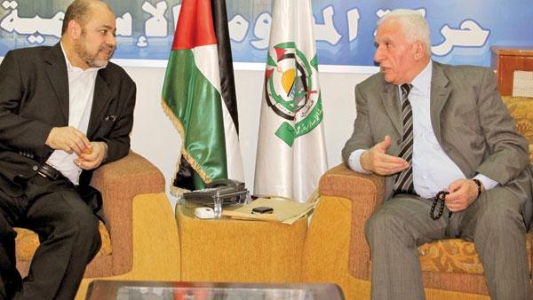 دستگیری دبیرشورای قانونگذاری فلسطین همزمان با مذاکرات فتح و حماس