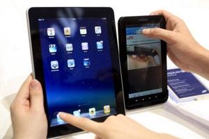 iPad und Galaxy Tab