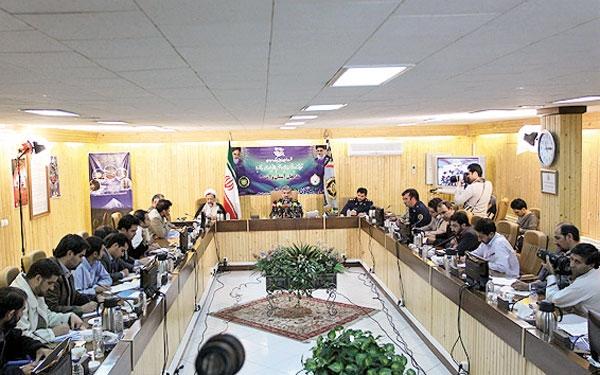 نشست خبری امیر سرتیپ خلبان احمد میقانی