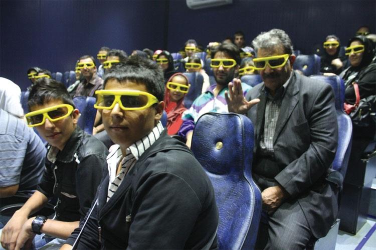 سفر به سرزمینهای مجازی با سینمای چهار بعدی