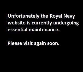 roayl navy website hacked