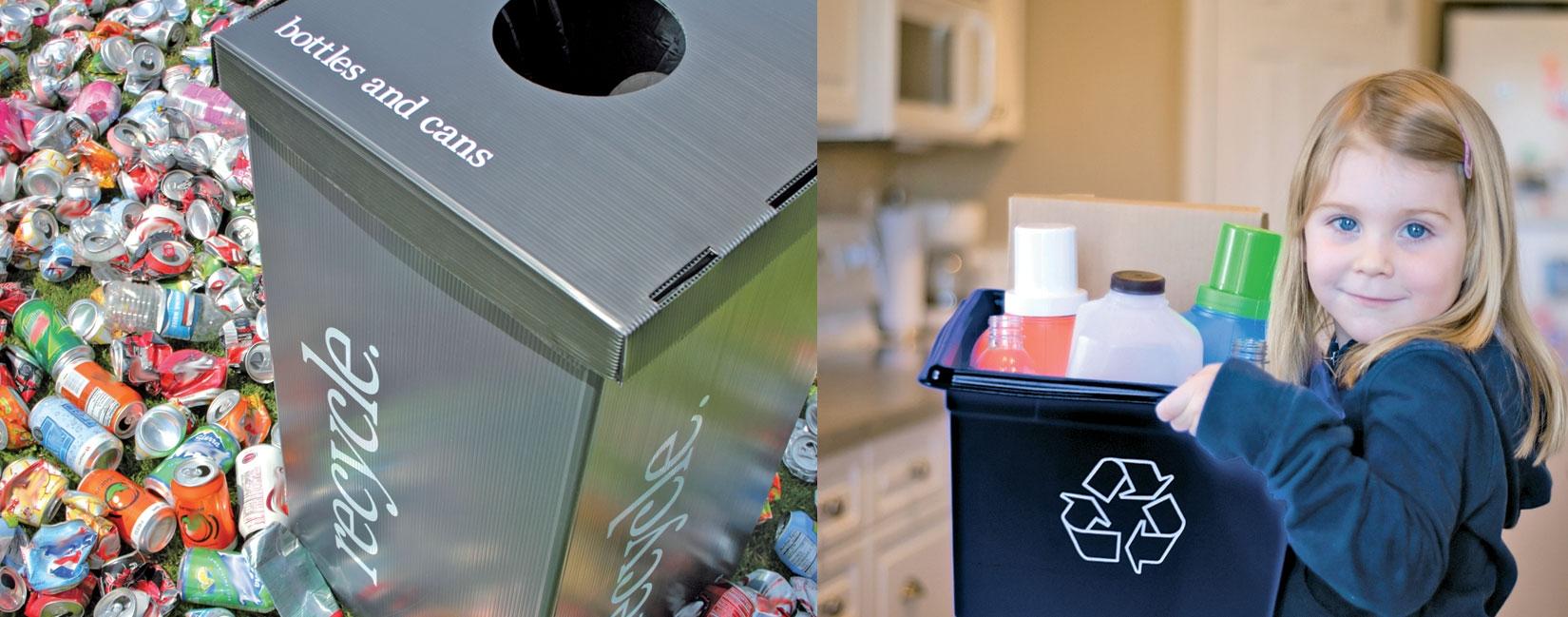 بازیافت - سطل زباله