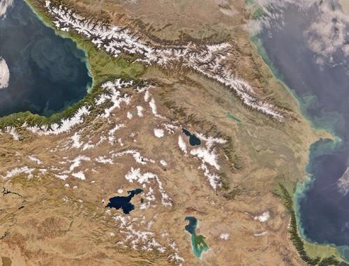 نقشه ماهواره ای