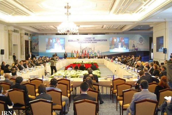 نوزدهمین نشست شورای وزیران خارجه اکو در استانبول آغاز شد