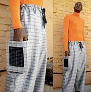 پوشاک مجهز به صفحات خورشیدی به بازار آمد