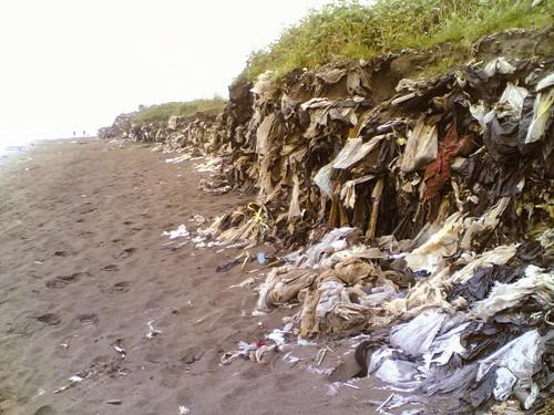 زباله - ساحل