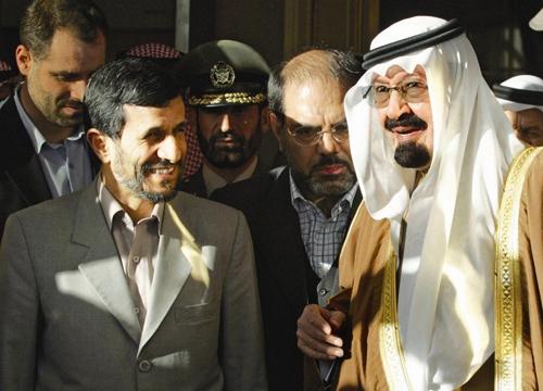 ملک عبدالله - احمدی نژاد