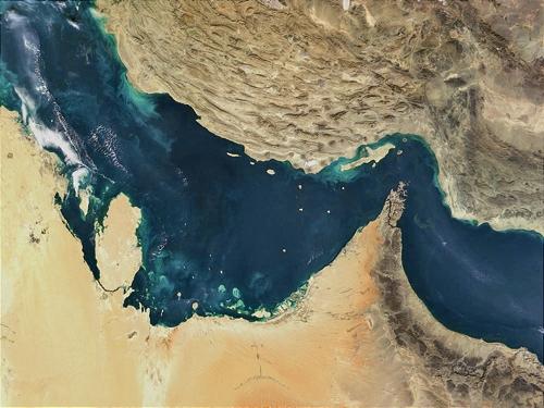 نقشه - خلیج فارس