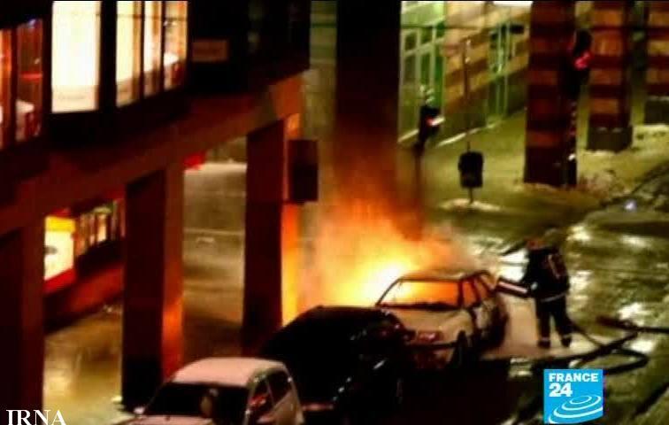 انفجار انتحاری در استکهلم