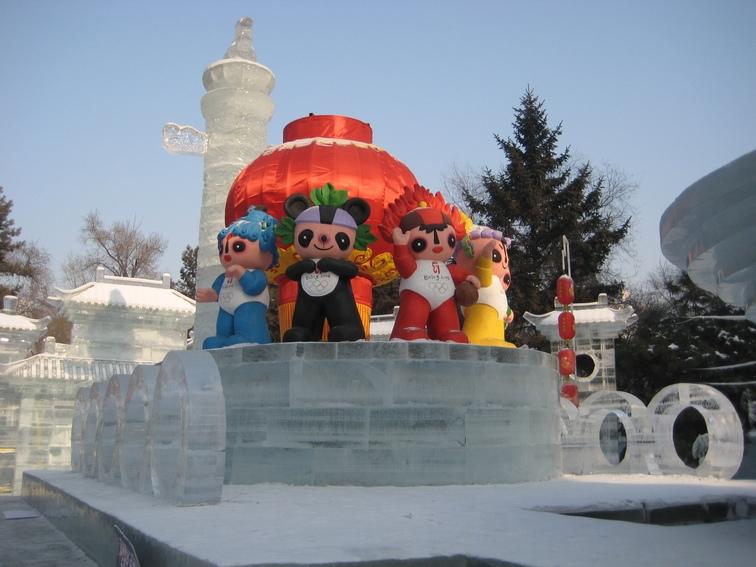 جشنواره یخ و برف هاربین در چین
