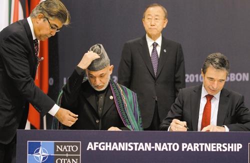 افغانستان - حامد کرزای