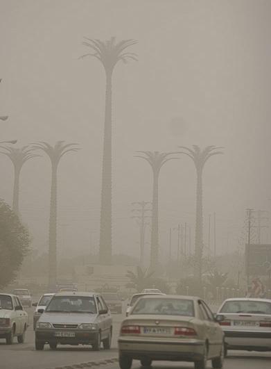 آلودگی هوا اهواز