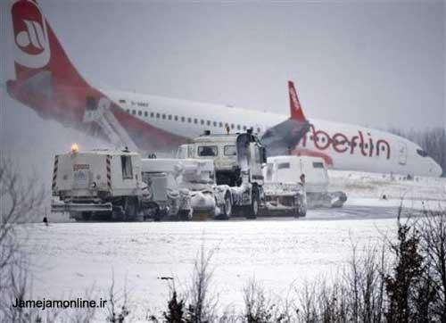 برف در اروپا