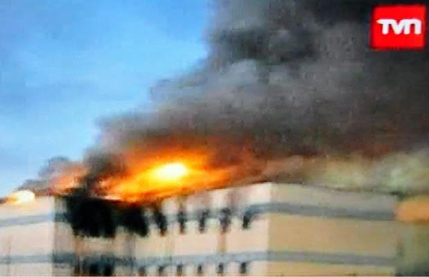 81 کشته در آتش سوزی یک زندان در شیلی