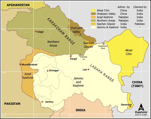 هند - کشمیر