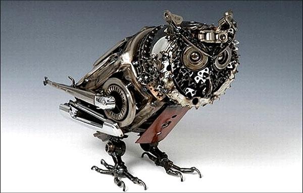 حیواناتی که از خودروهای فرسوده خلق شدند!