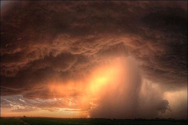 تصاویر شگفتانگیز توفانهای تندری