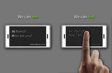تلفن همراه نابینایان