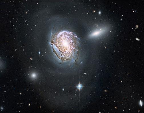 اثر جدید هابل از کهکشان مارپیچی